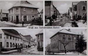 1940 Ladengeschäft Kolb, Lange Straße, Rathaus, Schulhaus