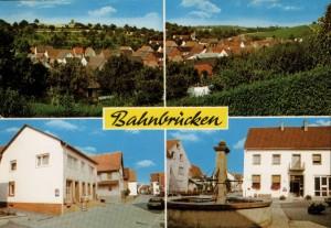 1980 Gesamtansicht, Gasthaus zum Ochsen, Rathaus mit Brunnen