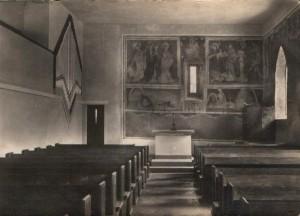 Kirche in den 50iger Jahren innen