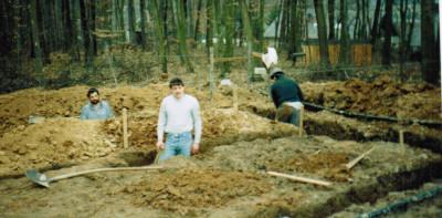 Bau Garagenclubhaus