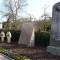 Denkmäler für die Kriegsopfer des ersten und zweiten Weltkrieges auf dem Friedhof