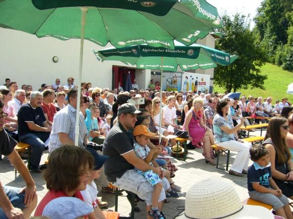 Gottesdienst im Grünen 06. Juli 2014