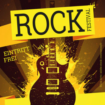 Rockfestival am 12. Juli 2019