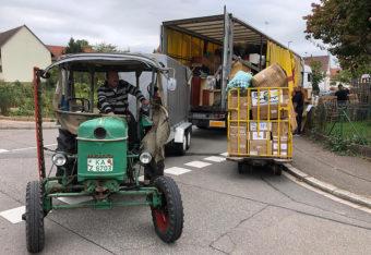 Wichtige Hilfsgüter für Rumänien